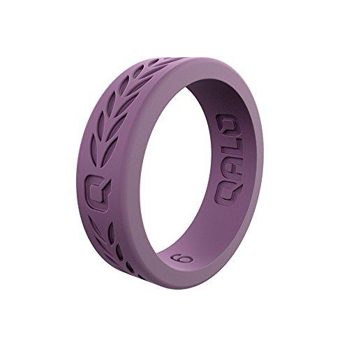 【30%OFF】 QALO-レディースシリコンリング(品質は、陸上競技 Laurel、愛とアウトドア)は7-18のサイズを -Silicone B0722QNRPW Q2X Lilac Laurel -Silicone Ring -Silicone 6 6|Q2X Lilac Laurel -Silicone Ring, SportsExpress:be6c054c --- arianechie.dominiotemporario.com