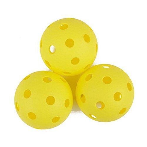 Spokey Unihockey Ball, Floorball 3er Set, Turn, Gelb, M SPOKI|#Spokey Spokey_85654