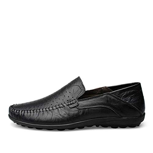 5 Daily colore Qiusa Fashion Black Dimensione Loafers Traspirante Boy's Uk Mesh FFXqB8