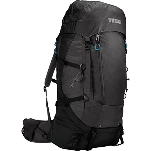 Thule Guidepost Men's Backpacking Pack, 75-Liter, Black/Dark Shadow