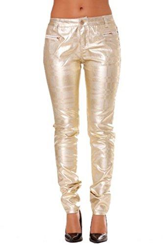Slim Plateado Golden Days Days Golden Pantalón Pantalón Slim 4UqpZnx