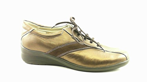 Fidelio Damen Halbschuh Magic-Stretch 35602-63 , Bronce Lammperlato , Leder , UK