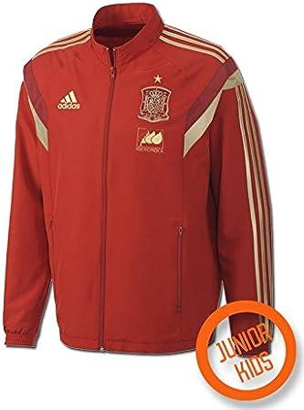 adidas Chándal Selección Española Pre -Junior- 2014: Amazon.es ...