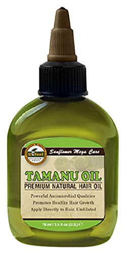 Sunflower Tamanu Oil Premium Natural Hair Oil 75 ml Sunflower Cosmetics
