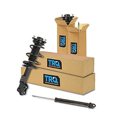 TRQ Front Rear Strut Assembly & Shock Absorber Kit Set of 4 for Hyundai Sonata: Automotive