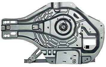 TYC 670045-G Hyundai Tucson Front Passenger Side Replacement Power Window Regulator without Motor