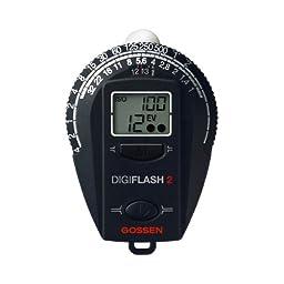 Gossen GO 4007-2 Digiflash Light Meter 2 (Black)
