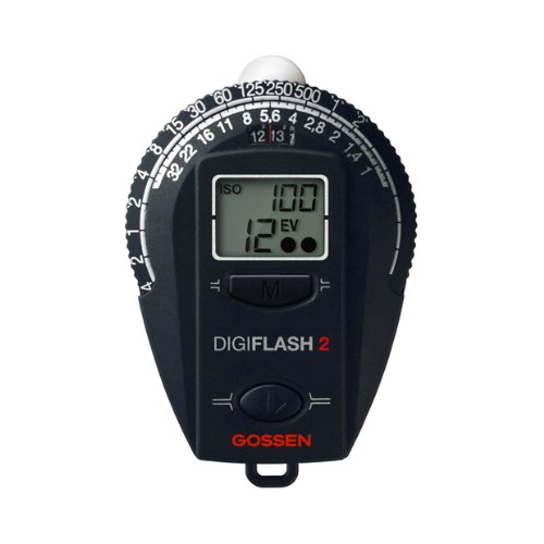 Gossen GO 4007-2 Digiflash Light Meter 2 (Black) by Gossen