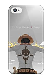 THYde GXHpqJJ OKAao Fire Fist Ace Awesome High Quality ipod Touch4 Case Skin ending