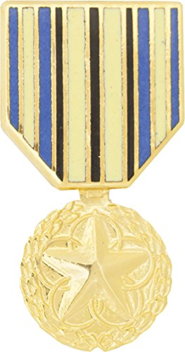 Military Outstanding Volunteer Service Medal Hat Pin