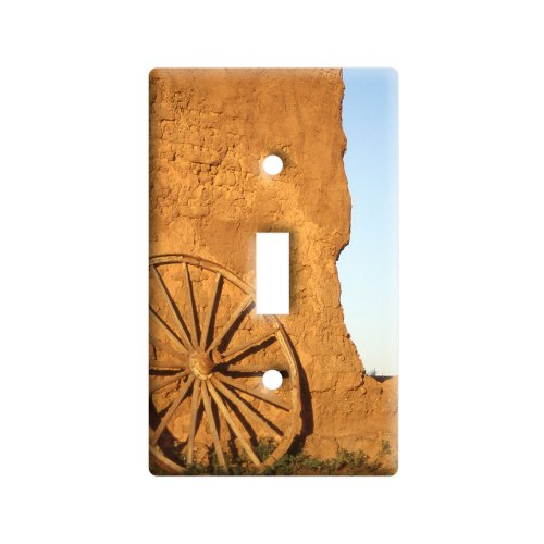 fort-union-western-wagon-wheel-new-mexico-plastic-wall-decor-toggle-light-switch-plate-cover