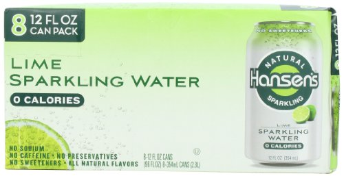 Hansens Natural Sparkling Water Ounce