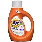Tide Plus Bleach Alternative HE Turbo Clean Liquid Laundry Detergent, 1.09 L (24 Loads)