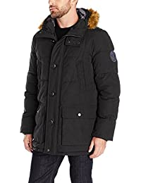 Men's Arctic Cloth Full Length Quilted Snorkel Jacket