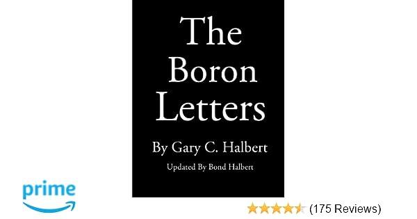 The Boron Letters Gary C Halbert Bond Halbert
