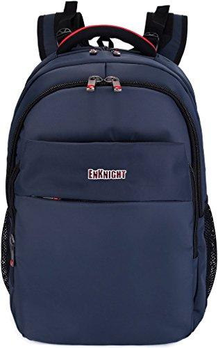 ENKNIGHT 17 inch Laptop Backpack Travel Bag Schoolbag Daypack Hiking Pack Navy