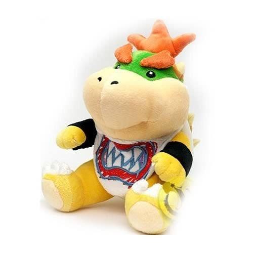 [Nintendo Super Mario Bros 7inch Bowser Jr Plush Figure Doll Toy] (Bowser Costume For Dog)