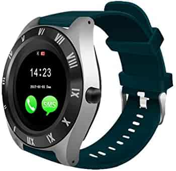 Tonsee Blueteeth Smart Watch Camera Phone Mate 4G GSM SIM TF Ca for Android for Father Men Student Youth Boyfriend Lover's Birthday USB Charging Watch
