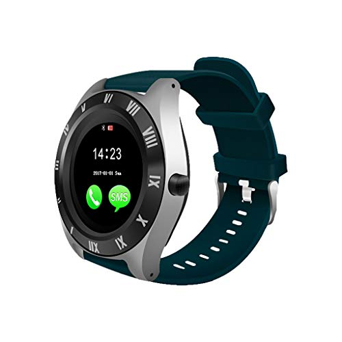 (Mike Franklins M11 Bluetooth Smart Watch with Camera SIM Card Slot Support Phone Call 4G GSM for Android for Samsung)