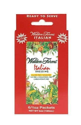 Walden Farms Dressing Sugar Free Italian  (Twelve 1 oz ()