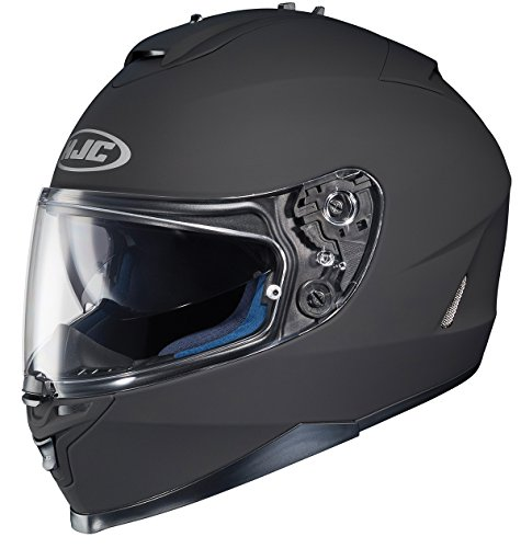 HJC IS-17 - Casco integral para motocicleta, Negro mate, X-large