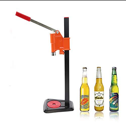 Ochoos 1pc Bottle Capping Machine Manual Beer Lid Sealing Capper Beer Capper Soft Drink Capping Machine Vertical soda Water Caper