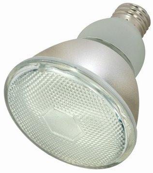 6 Pack Satco S7204 15 Watt 700 Lumens PAR30 Compact Fluorescent (CFL) Flood Light Bulb (50 Watt Replacement)