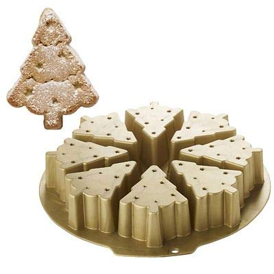 8 Hole Christmas Tree Silicone Cake Jelly Mould
