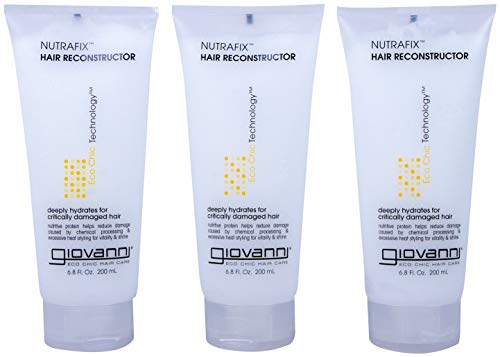 Giovanni Nutraflix Hair Reconstructor, Packaging May Vary, 6.8 Ounce tube (Pack of 3)