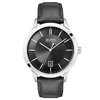 dbe0e44745d Relógio Hugo Boss Masculino Couro Preto - 1513611  Amazon.com.br  Amazon  Moda