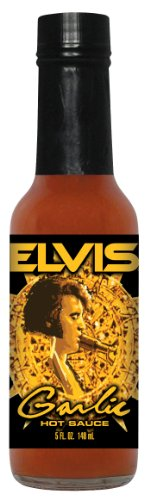 24 Pack HSH ELVIS Garlic Hot Sauce (Burning Love Hot Sauce)