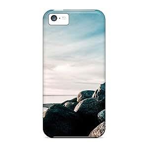 [QlvXsul7101DRYFL]premium Phone Case For Iphone 5c/ Reef And Sunset Tpu Case Cover
