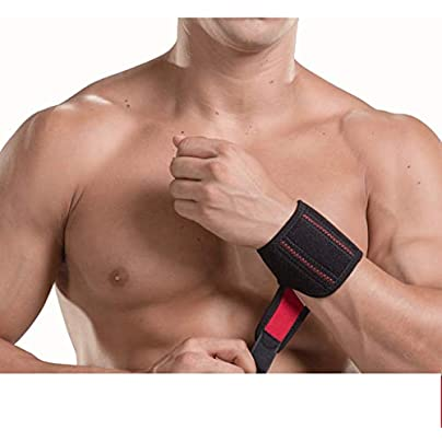 Xiaoping Sports Wristband Male Anti-strain Female Fixed Wrist Protector Wrist Joint Handcuffs Adjustable Estimated Price £22.92 -