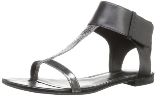 Enzo Angiolini Women's Tilah Dress Sandal,Black Combo,10 M US