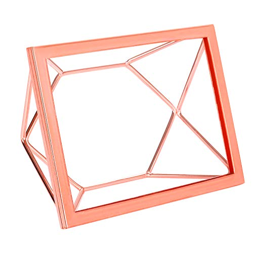 superbpag Picture Frames 5 x 7 Photo Frames for Wall or Desk, Rose Gold