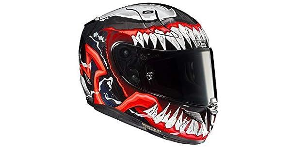 Amazon.com: HJC RPHA-11 PRO Venom 2 (negro/rojo/blanco ...