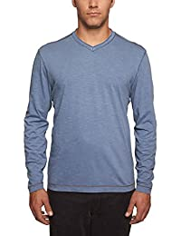 "<span class=""a-offscreen"">[Sponsored]</span>by Thaddeus Mens Chip Long Sleeve Jersey V-Neck T Shirt"