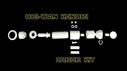 3D Printed Screen Accurate Saber Kit (OBI-Wan Kenobi) - not an Official Star Wars Lightsaber]()