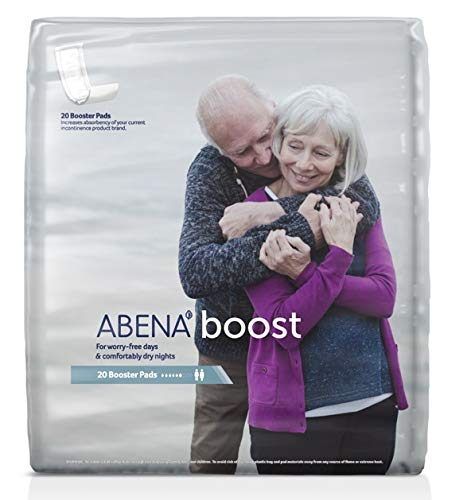 Abena Boost Booster Pads, Maxi Absorbency, Case/120 (6/20s)