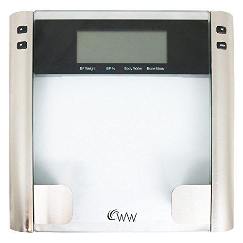Weight Watchers� Glass Body Analysis Scale
