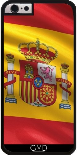 Funda de silicona para Iphone 7/7S Plus - Bandera De España by Carsten Reisinger Plástico rígido