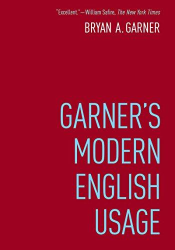 Garner's Modern English Usage ()