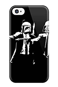 New Arrival Star Wars Pulp Fiction For Iphone 4/4s Case Cover