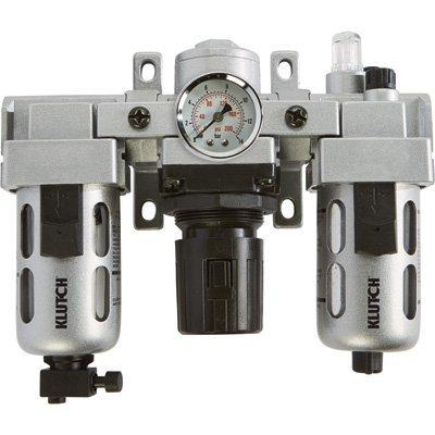 Klutch Air Filter-Regulator-Lubricator Combo - 3/8in., 71 CFM by Klutch