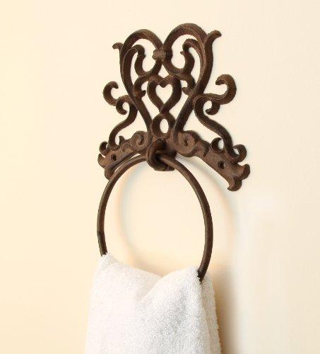 Bathroom Kitchen Cast Iron Towel Ring