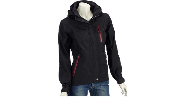Northland Exo LXT Pinkie chaqueta para mujer, Mujer, color Negro - negro/rojo, tamaño 14 (Reino Unido): Amazon.es: Deportes y aire libre