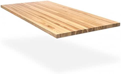 Amazon Com Wood Welded 120 X 24 X 1 3 4 Maple Butcher Block 1 3 4 Thick 24 Wide Home Kitchen