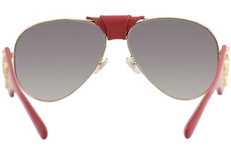 036abc4b17 Amazon.com  Versace VE2150Q Sunglasses 100211-62 - Gold Frame