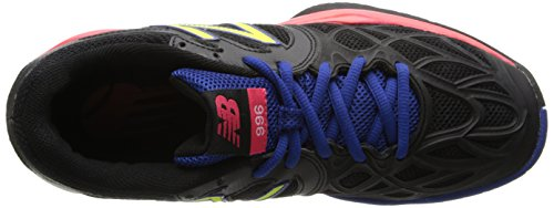 888098094435 - New Balance Women's WC996 Tennis Shoe,Black,6.5 D US carousel main 7