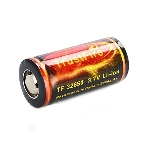 Lithium Battery - TrustFire 32650 6000mAh 3.7V Lithium Battery with PCB protected board